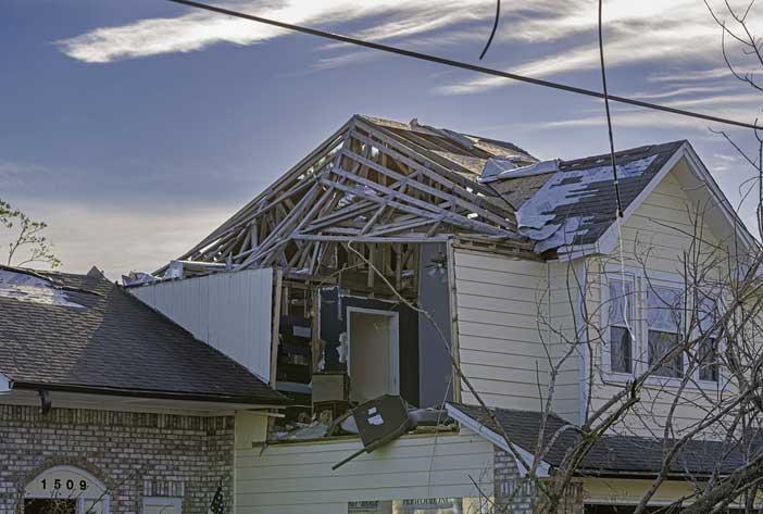 Pensacola Home Damaged by Hurricane Sally